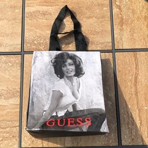 LNWOT Guess Sophia Loren reusable shopping bag